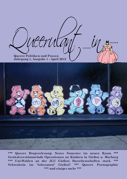 Queerulant_in Ausgabe 1 (April 2012)