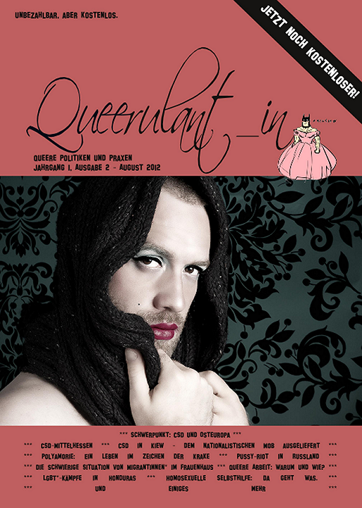 Queerulant_in Ausgabe 2 (August 2012)