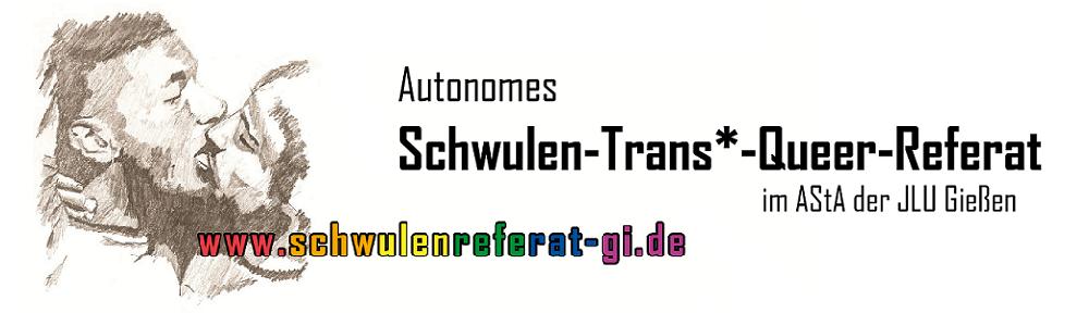 Autonomes Schwulen-Trans*-Queer-Referat im AStA der JLU Gießen